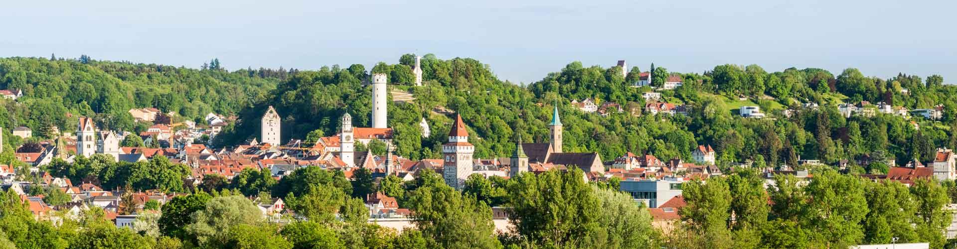 Ravensburg Ansicht der Türme