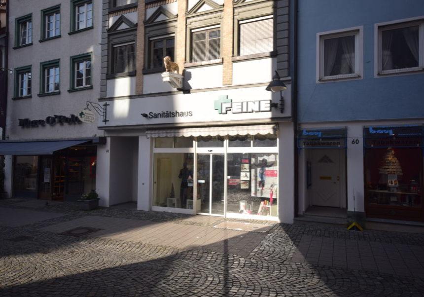 3187-kurz#Gebäudeaussenansicht 1 mit Schaufenster