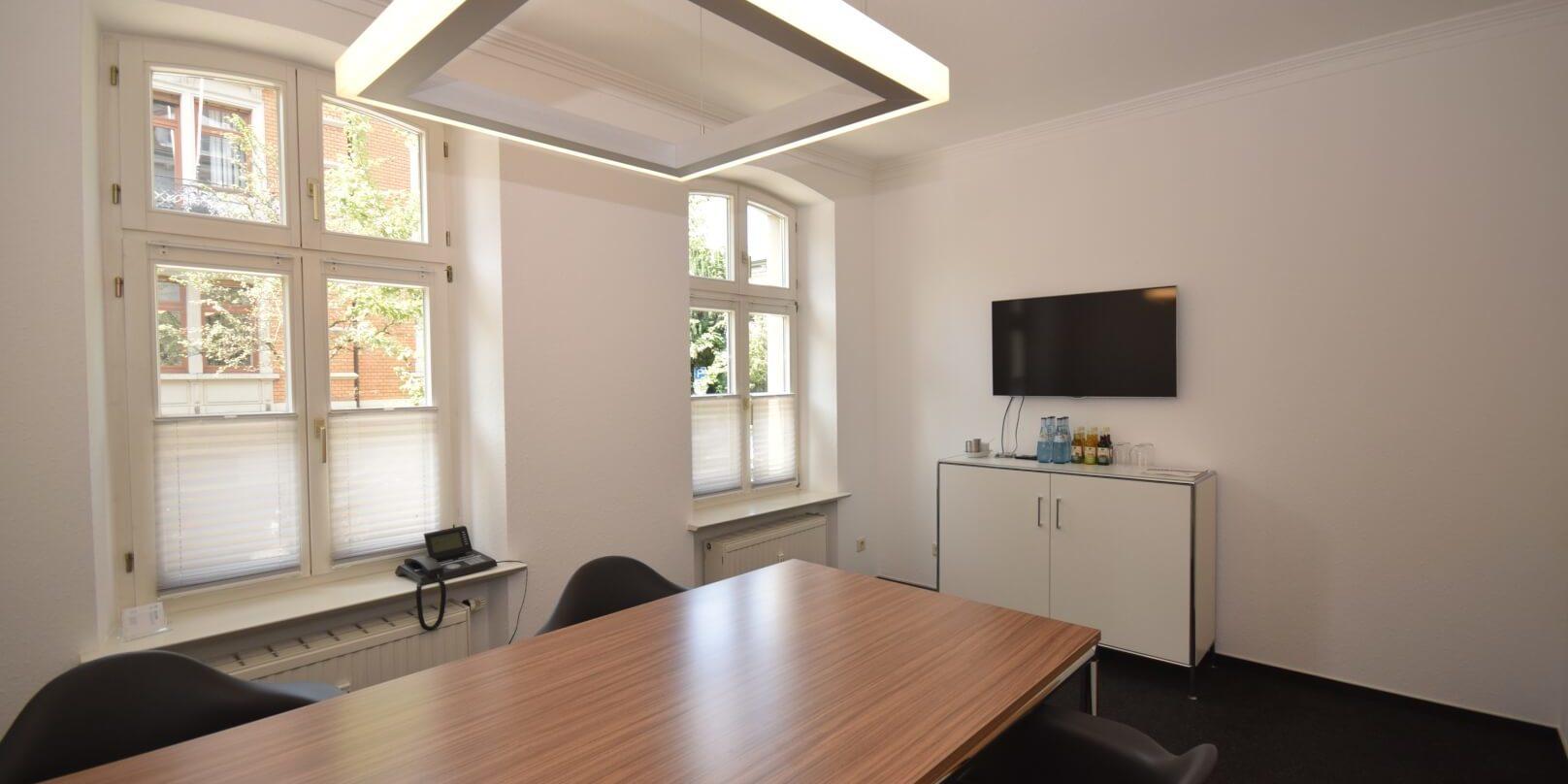Der Besprechungsraum. Immobilienmakler aus Ravensburg