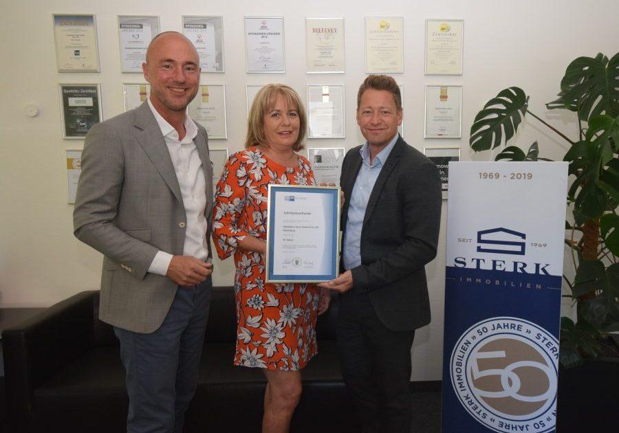 Die IHK Bodensee gratuliert uns zu 50 jährigem bestehen. 50 Jahre Immobilienmakler in Ravensburg