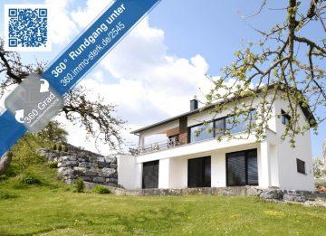 Traumhaufte Aussicht – neuwertiges Einfamilienhaus bei Altshausen, 88361 Eichstegen, Einfamilienhaus