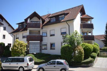 Oberzell – Ortsmitte  – Gepflegte 3 1/2-Zimmer-Wohnung mit Doppelgarage, 88213 Ravensburg, Etagenwohnung