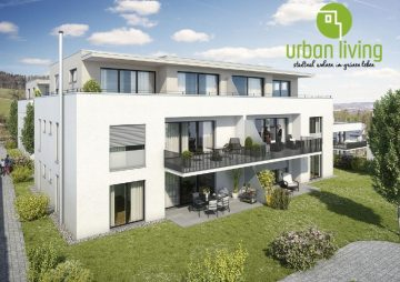 3,5 Zi Neubauwohnung in Vorberg- stadtnah wohnen, im grünen leben –, 88276 Berg, Etagenwohnung