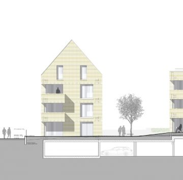 Neubau – Erstbezug! 3,5 Zimmer-Wohnung in RV-Kuppelnau, 88212 Ravensburg, Etagenwohnung