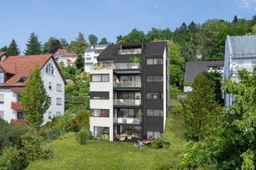 Neubauprojekt in Ravensburg – Federburgstraße – Attraktive 3,5 Zimmerwohnung mit Panoramablick, 88214 Ravensburg, Etagenwohnung