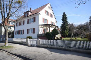 Weingarten – Stadtlage Charmantes 3-Familienhaus im klassischen Stil der 30'er Jahre, 88250 Weingarten, Mehrfamilienhaus