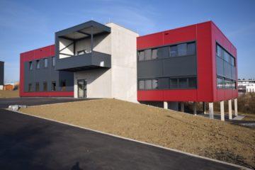 """Ravensburg- Gewerbegebiet """"Erlen"""" Neubau-Gewerbeeinheit in moderner Architektur, 88213 Ravensburg, Büro/Praxis"""
