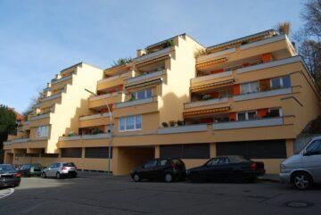 Ravensburg-Stadtlage – Möblierte 1-Zimmer-Wohnung in zentrumsnaher Wohnlage, 88212 Ravensburg, Etagenwohnung