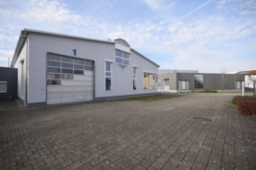 Gewerbegebiet Baindt – Mehlis Multifunktionale Gewerbehalle mit Kranbahn, 88255 Baindt, Halle/Lager/Produktion