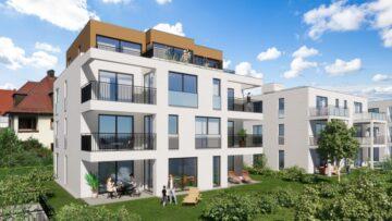 Weingarten -Wohnen am Stadtgarten – Exklusive 2 1/2-Zimmer-Neubauwohnung, 88250 Weingarten, Etagenwohnung