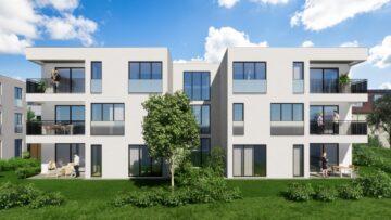 Weingarten – Wohnen am Stadtgarten Exklusive 4,5-Zimmer-Neubauwohnung mit eigenem Garten, 88250 Weingarten, Erdgeschosswohnung