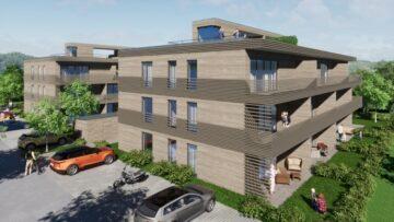 Privilegiert Wohnen am Hofgarten – Exklusive Neubauwohnungen im heilklimatischen Kurort Wolfegg, 88364 Wolfegg, Erdgeschosswohnung